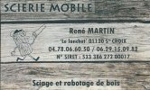 Scierie mobile René MARTIN
